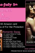GuestPost & Giveaway : Amber Barden Introduces For Her Protection