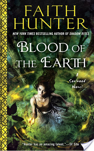 Review – Blood of the Earth by Faith Hunter (4 Stars)