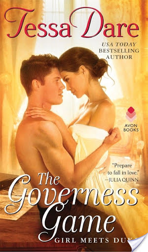 Review Post : The Governess Game by Tessa Dare (4 Stars)